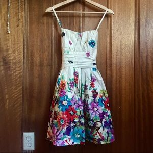 Anthropologie Alyn Paige Floral Sundress